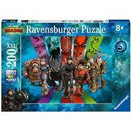 Ravensburger 126293 Jak vycvičit draka 3: Dračí jezdci   - Puzzle