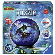 Ravensburger 3D 111442 Puzzle-Ball How to Train Your Dragon 3 - 3D puzzle