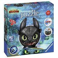 3D puzzle Ravensburger 3D 111459 Puzzle-Ball Jak vycvičit draka 3: Bezzubka  - 3D puzzle