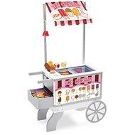 Melissa & Doug - Prodejní stánek s občerstvením - Dřevěná hračka