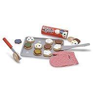 Melissa & Doug - Dřeveny set na pečení sušenek - Dřevěná hračka