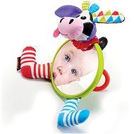 Yookidoo - Moje první zrcátko - Kravička - Hračka na kočárek