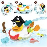 Yookidoo - Kreativní plavací kachna - Pirát - Hračka do vody