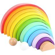 Small Foot Wooden Building Blocks Rainbow XXL - Wooden Toy