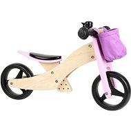 Small foot Trike 2 v 1 růžové - Odrážedlo