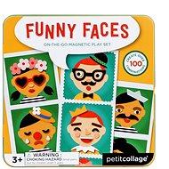 Petitcollage veselé tváře - Kreativní hračka