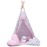 BabyTýpka teepee Mickey pink - Dětský stan