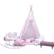 BabyTýpka teepee Princess - Dětský stan