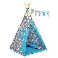 BabyTýpka teepee King blue - Dětský stan