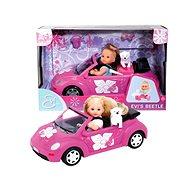 Simba Panenka Evička s autem New Beetle - Panenka