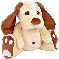 Pes Pupík béžový 75cm - Plyšák