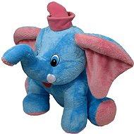 Slon Jumbo modrý 55cm - Plyšák