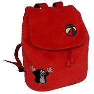 Batůžek Krtek červený - Dětský batoh