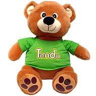 Mac Toys Pohádkový medvídek Tonda CZ - Plyšový medvěd