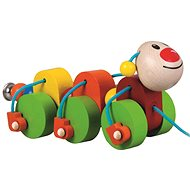 Detoa Caterpillar Julie - Push and Pull Toy