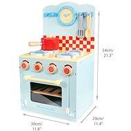 Le Toy Van Kuchyňka Honeybake blue - Minikuchyňka