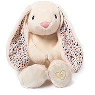 Whisbear šumící králík s CRY senzorem krémový