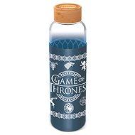 Láhev na pití Skleněná láhev s návlekem 585 ml, Hra o trůny