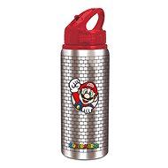 Láhev na pití Hliníková láhev sport 710 ml, Super Mario