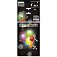 Sada LED svítících a blikajících balónků - 10 ks - Nafukovací míč