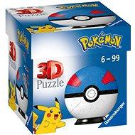 Ravensburger 3D puzzle 112654 puzzle-Ball Pokémon Motiv 2 - položka 54 dílků  - Puzzle