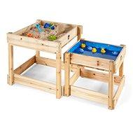 Dětské hřiště Plum Dřevěné stolečky na hraní 2v1