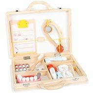 Small Foot Dětský doktorský kufřík pro malé zubaře 2v1 - Tematická sada hraček