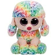 Beanie Boos Rainbow, 62 cm - barevný pudl XL - Plyšák