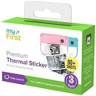 Termo papírové samolepicí kotoučky myFirst Thermal Sticker