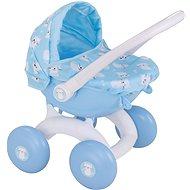 Kočárek pro panenky BabyBoo můj první kočárek - modrý