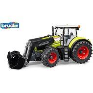 Bruder Farmer - traktor Claas Axion s předním nakladačem