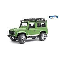 Bruder Užitkové vozy - Land Rover s manuálním ovládáním směru kol 1:16