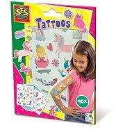 Kreativní sada SES Dětské tetování pro dívky, 40 ks