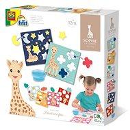 SES Žirafa Sophie - lepení tvarů