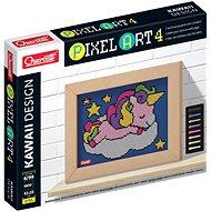 Vyrábění pro děti Quercetti Unicorn – mozaika z kolíčků
