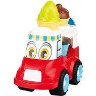 Androni Veselý zmrzlinářský vůz - 24 cm, červený