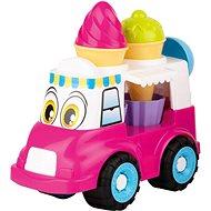 Androni Veselý zmrzlinářský vůz - 24 cm, růžový