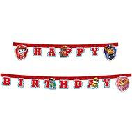 Girlanda narozeniny - happy birthday - paw patrol - tlapková patrola - 200 cm - Party doplňky
