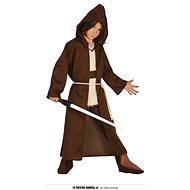 Kostým bojovník - hnědý plášť - jedi - vel. (10-12 let) - Dětský kostým