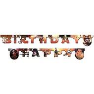 Banner - girlanda star wars - hvězdné války - happy birthday - narozeniny - 210 cm - Party doplňky