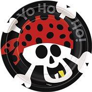 Talíře pirát - pirate fun - 17,5 cm - 8 ks - Jednorázové nádobí