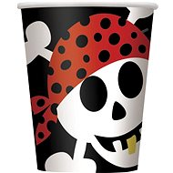 Kelímky - pirát - pirate fun - 270 ml - 8 ks - Kelímek
