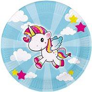 Talíře jednorožec - little unicorn 23cm / 8 ks - Jednorázové nádobí