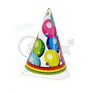 Kloboučky narozeniny - balonky - 6 ks - Party doplňky