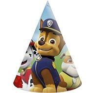 Papírové kloboučky paw patrol - tlapková patrola 6 ks - Party doplňky