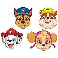 Papírové masky tlapková patrola - paw patrol, 8 ks - Doplněk ke kostýmu