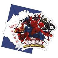 """Pozvánky s pozvánkou """" ultimate spiderman """", 6 ks - Party doplňky"""