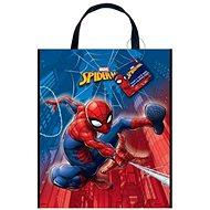 Dárková taška spiderman - plastová 28 x 33,5 cm - Dárková taška