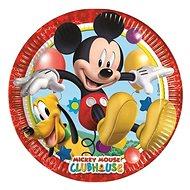 Talíře myšák mickey mouse 23 cm, 8 ks - Jednorázové nádobí