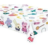 """Plastový ubrus prasátko peppa """"peppa pig"""", 120x180 cm - Party doplňky"""